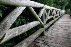 Ponticello di legno Fotografie Stock