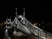 Ponticello di libertà di Budapest immagini stock libere da diritti