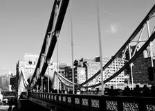Ponticello di Londra Fotografie Stock