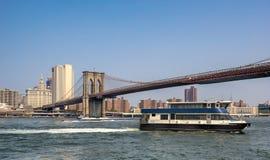 Ponticello di Manhattan a New York City Fotografie Stock