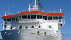 Ponticello di navi Immagini Stock