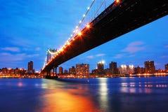 Ponticello di New York City Manhattan Fotografia Stock