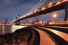 Ponticello di New York City Manhattan Fotografie Stock