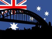 Ponticello di porto di Sydney illustrazione vettoriale