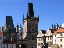 Ponticello di Praga Charles Immagine Stock