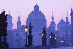 Ponticello di Praga charles Immagini Stock Libere da Diritti