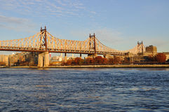 Ponticello di Queensboro Immagine Stock