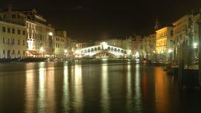 Ponticello di Rialto a Venezia fotografia stock libera da diritti