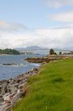 Ponticello di Skye dal sud Fotografie Stock