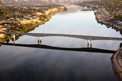 Ponticello di Southway, fiume di serpente immagini stock