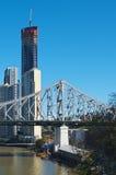 Ponticello di storia, Brisbane Immagine Stock