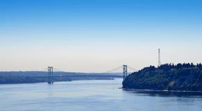 Ponticello di stretti di Tacoma Immagine Stock Libera da Diritti