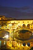Ponticello di vecchio di Ponte a Firenze Fotografia Stock Libera da Diritti