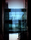 Ponticello di vetro 2 Fotografie Stock Libere da Diritti