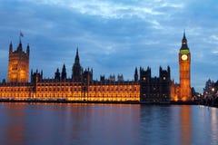 Ponticello di Westminster, Londra Immagini Stock