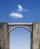 Ponticello e cielo Fotografia Stock Libera da Diritti