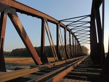 Ponticello ferroviario verde Immagini Stock Libere da Diritti