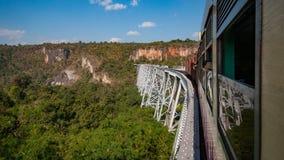 Ponticello ferroviario verde Immagine Stock