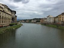 Ponticello a Firenze Fotografia Stock Libera da Diritti