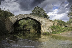 Ponticello in Grecia Fotografia Stock