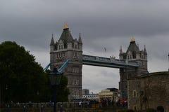 Ponticello Londra della torretta fotografie stock
