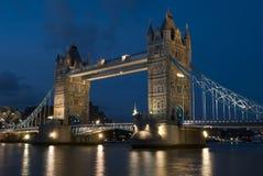 Ponticello Londra della torretta Fotografia Stock