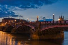 Ponticello Londra di Lambeth Fotografia Stock