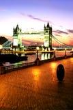 Ponticello Londra, Inghilterra Immagini Stock
