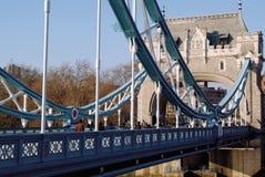 Ponticello Londra Inghilterra della torretta Immagini Stock Libere da Diritti