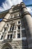 Ponticello Londra Inghilterra della torretta Fotografia Stock