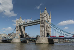 Ponticello Londra Inghilterra della torretta Fotografie Stock