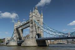 Ponticello Londra Inghilterra della torretta Immagine Stock