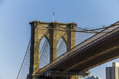 Ponticello a Manhattan Fotografie Stock