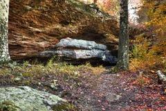Ponticello naturale della roccia Fotografia Stock