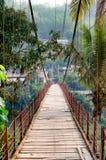 Ponticello nel Laos Fotografia Stock