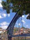Ponticello a Oporto Fotografie Stock Libere da Diritti