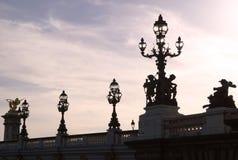 Ponticello a Parigi Immagini Stock Libere da Diritti