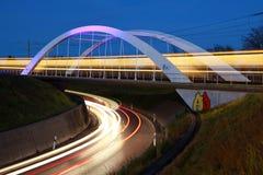 Ponticello per la guida chiara vicino a Stuttgart Immagini Stock Libere da Diritti