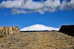 Ponticello per montare Etna Fotografia Stock Libera da Diritti