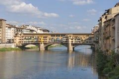 Ponticello Ponte Vecchio a Firenze Fotografia Stock Libera da Diritti