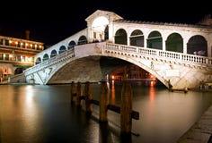 Ponticello Rialto - Venezia Immagini Stock