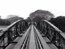 ponticello sopra il kwai del fiume Immagini Stock