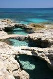 Ponticello sopra il mare (2) Fotografia Stock