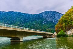 Ponticello sul Danubio fotografia stock