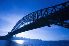 Ponticello, Sydney, Australia. Fotografia Stock Libera da Diritti