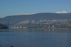 Ponticello Vancouver del nord del guinness immagini stock
