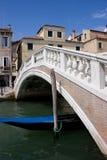 Ponticello a Venezia Fotografia Stock Libera da Diritti