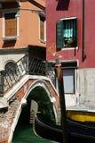 Ponticello a Venezia Immagini Stock