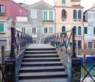 Ponticello veneziano Fotografie Stock