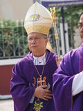 Pontiff Phillip Banchong Chaiyara diocese of Ubon Royalty Free Stock Image